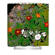 Plant Power 7 Shower Curtain by Eikoni Images