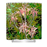 Plant Power 8 Shower Curtain by Eikoni Images