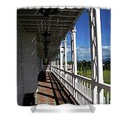 Plantation Porch Shower Curtain