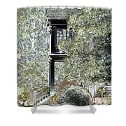 Plantation View Shower Curtain