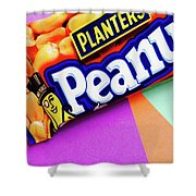 Planters Peanuts Candy Shower Curtain