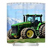 Planting Time Shower Curtain