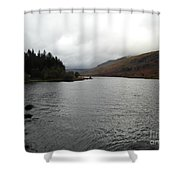 Plas-y-brenin Shower Curtain