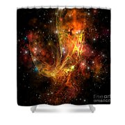 Plasma Drift Shower Curtain