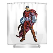 Plaster Paris  Shower Curtain