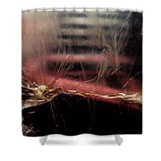 Plastic Bag 03 Shower Curtain by Grebo Gray