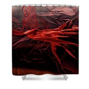 Plastic Bag 05 Shower Curtain by Grebo Gray