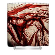 Plastic Bag 09 Shower Curtain by Grebo Gray