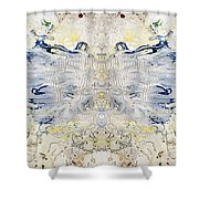 Plastic Fly Shower Curtain