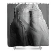 Plastic Sculpture Shower Curtain
