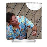 Plate Juggler 6689 Shower Curtain