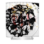 Plated Love Shower Curtain