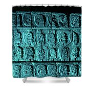 Platform Of Skulls At Night Shower Curtain