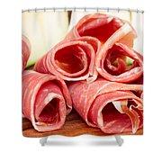 Platter Of Jamon Shower Curtain