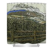 Platteville Shower Curtain