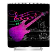 Play 5 Shower Curtain