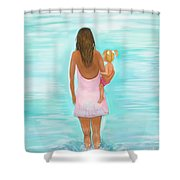 Play Day With Mommy Shower Curtain