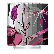 Play On Pink Shower Curtain