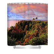Play Time In Paradise Shower Curtain