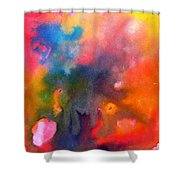 Play With Colours Shower Curtain