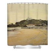 Playa De Los Bikinis Shower Curtain