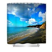 Playa Negra Shower Curtain