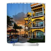'playacar' Shower Curtain
