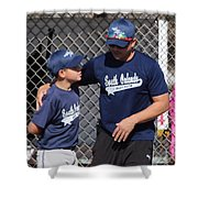 Player And Coach Shower Curtain