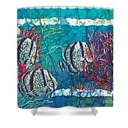 Playful Trio Shower Curtain