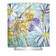 Playfulness Shower Curtain