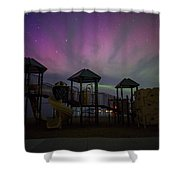 Playground Aurora Shower Curtain