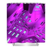 Playground For The Mind Shower Curtain