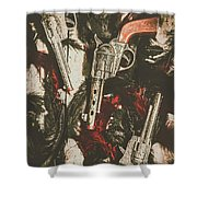 Playing Cowboys And Indians Shower Curtain