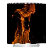 Playing With Fire 2 Shower Curtain