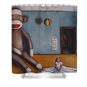 Playroom Nightmare Shower Curtain
