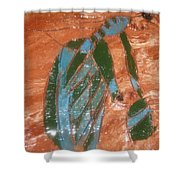 Playtime - Tile Shower Curtain