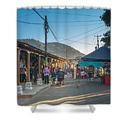 Plaza Central Apaneca Shower Curtain