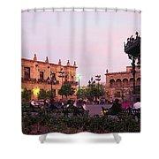 Plaza De Armas, Guadalajara, Mexico Shower Curtain