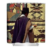Plaza De Ponchos Shower Curtain