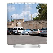 Plaza De Toros Bullring In Majorca Shower Curtain
