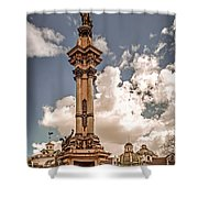 Plaza Grande Shower Curtain