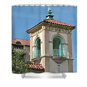 Plaza Tower Shower Curtain