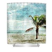 Pleasant Blue - Jersey Shore Shower Curtain