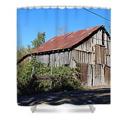 Pleasant Valley Barn 6 Shower Curtain