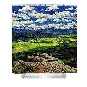 Pleasant Valley Colorado Shower Curtain