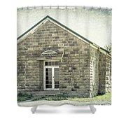 Pleasant Valley School Shower Curtain