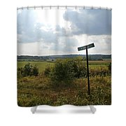 Pleasant Valley Shower Curtain