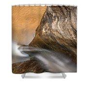 Pleasurable Contemplation Shower Curtain