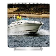 Pleasure Boat Shower Curtain