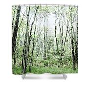 Pleasure Of Pathless Woods - Alt Shower Curtain